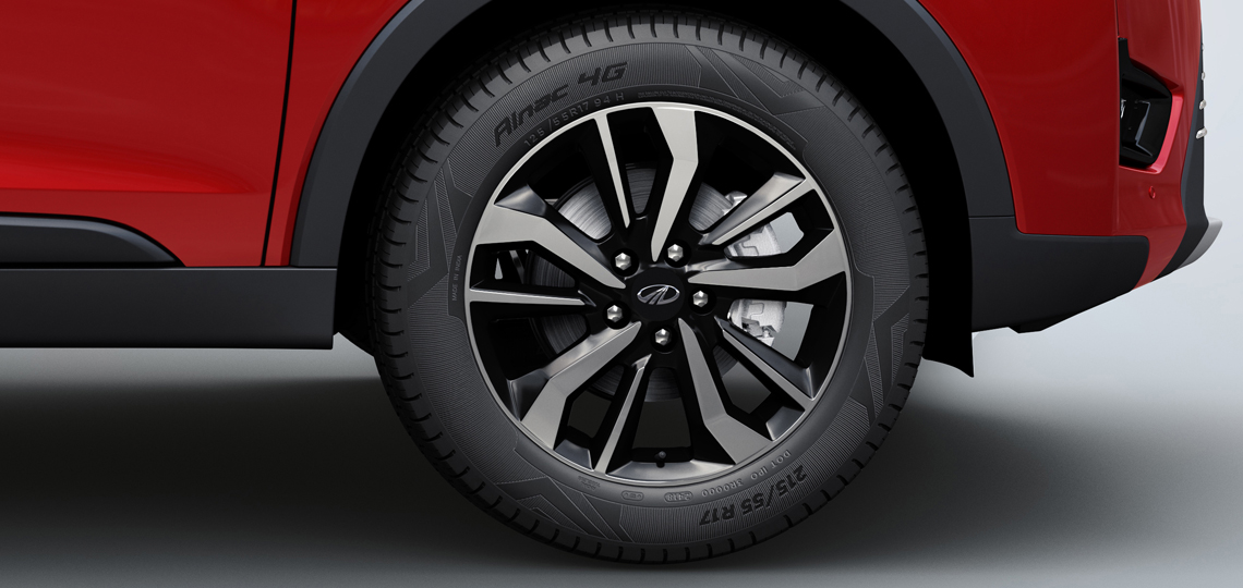 Mahindra SUV Alloy Wheels - M2ALL
