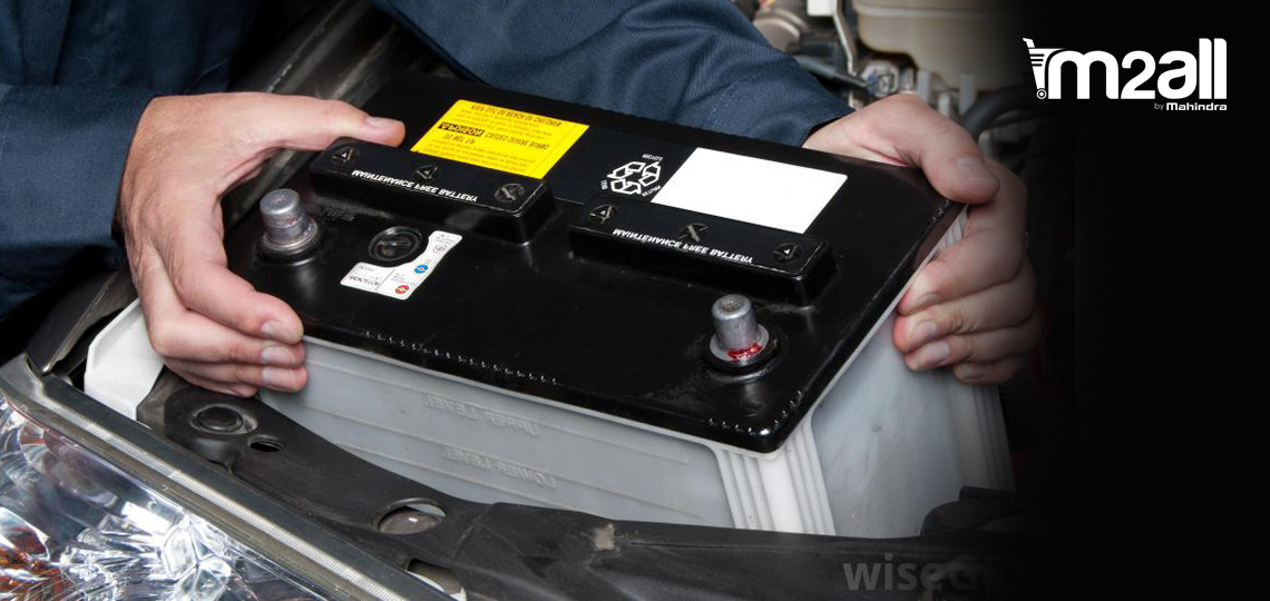 Car Battery - M2ALL