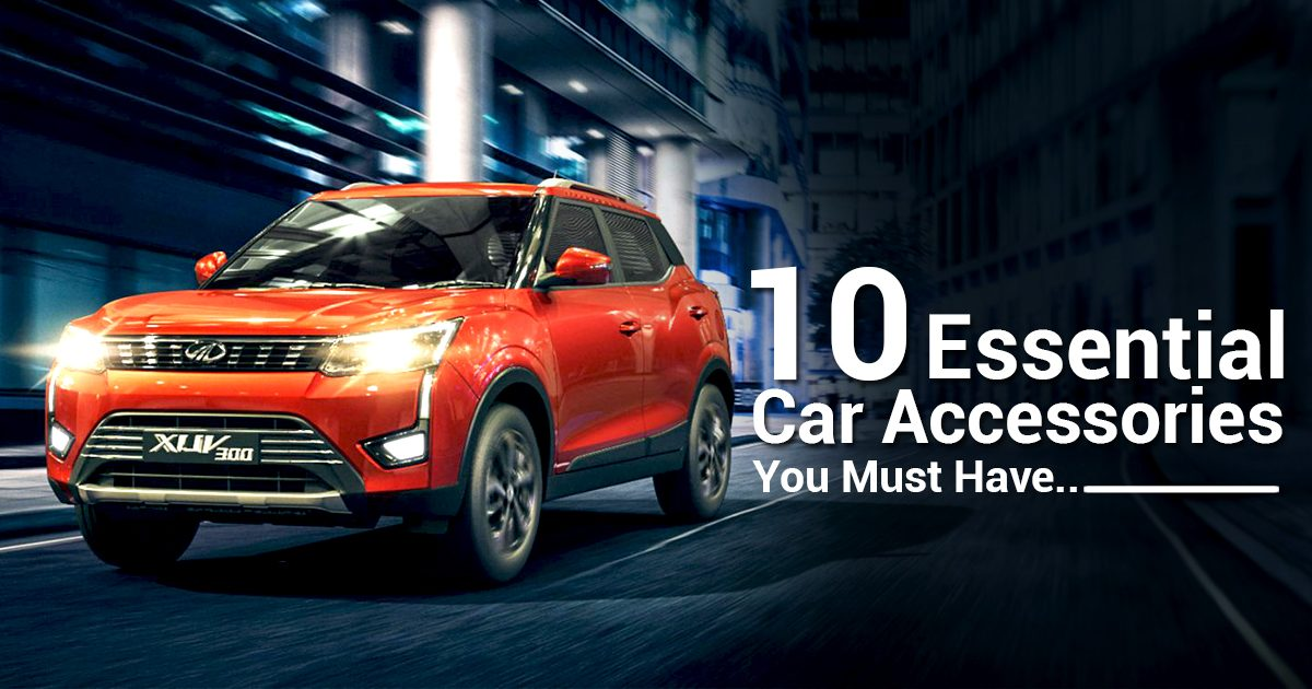 10 Car Accessories Every Car Owner Should Have