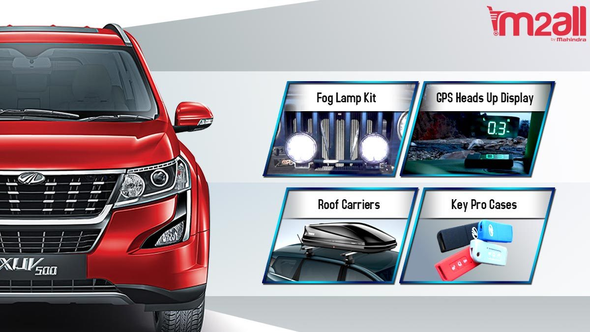 mahindra car accessories