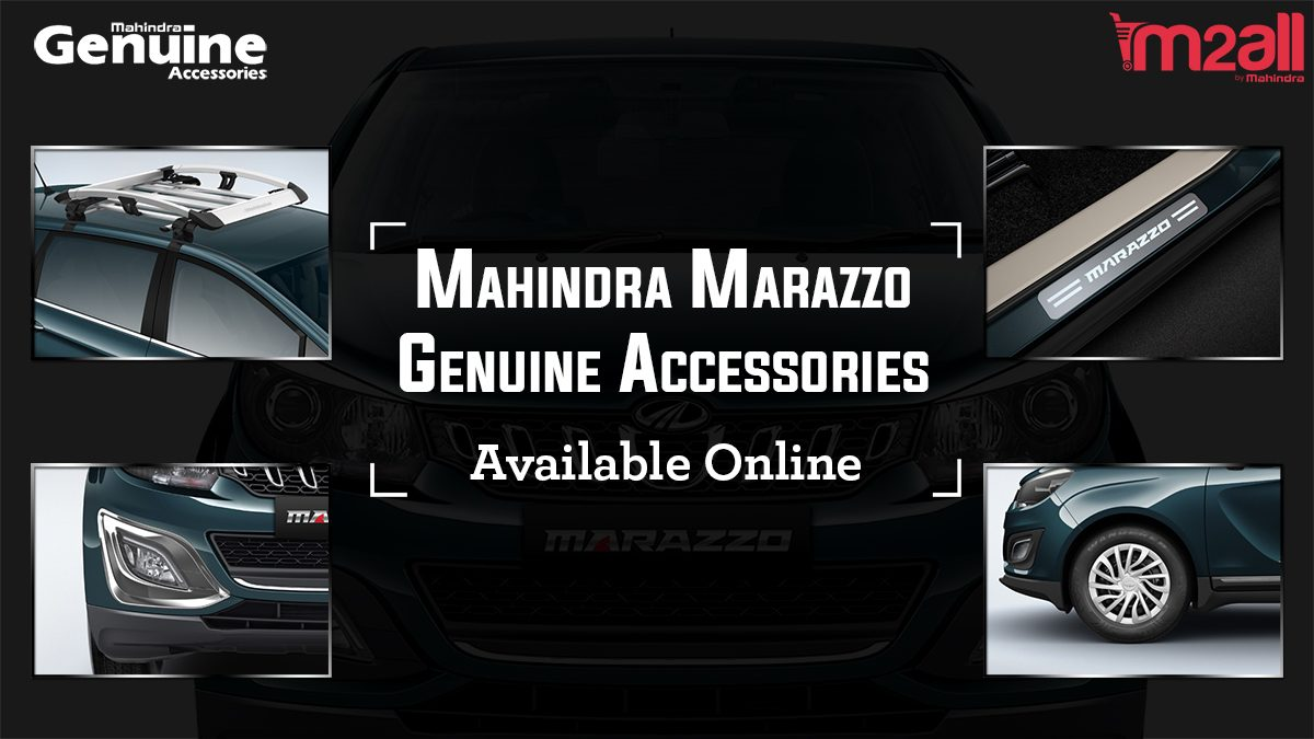 Exclusive: Launch of Mahindra Marazzo Accessories
