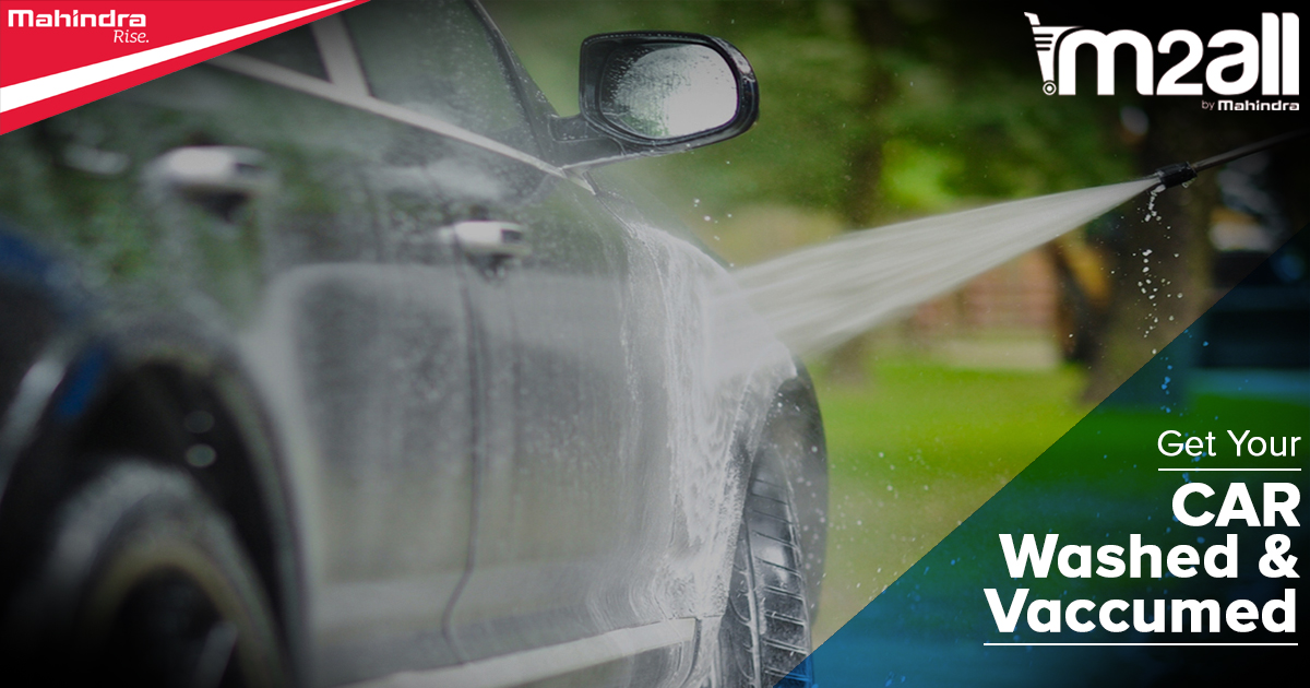 Wash your Car before a Road Trip - M2ALL