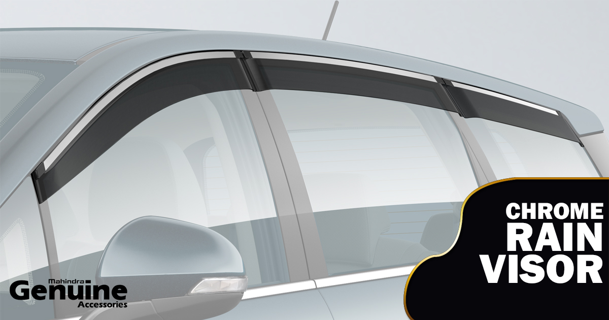 Marazzo Chrome Rain Visors - M2ALL