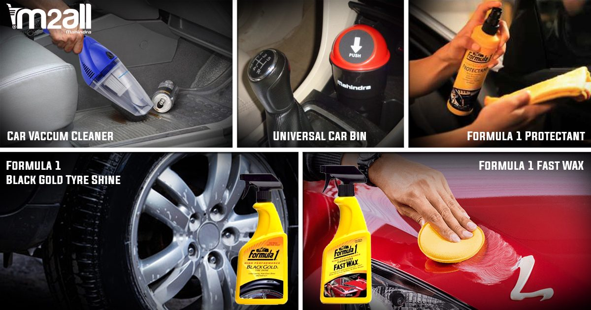 5 Necessary Car Care Products to keep your Car impeccably clean!
