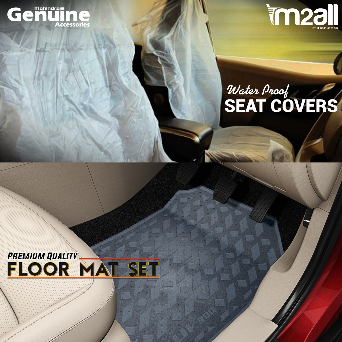 Seat Covers & Floor Mats - M2ALL