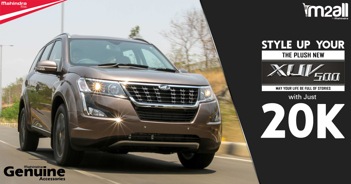 XUV500 Accessories under 20K - M2ALL