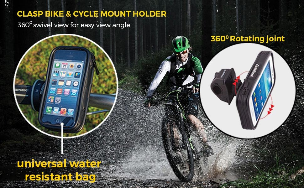 Bike Clasp Mobile Holder