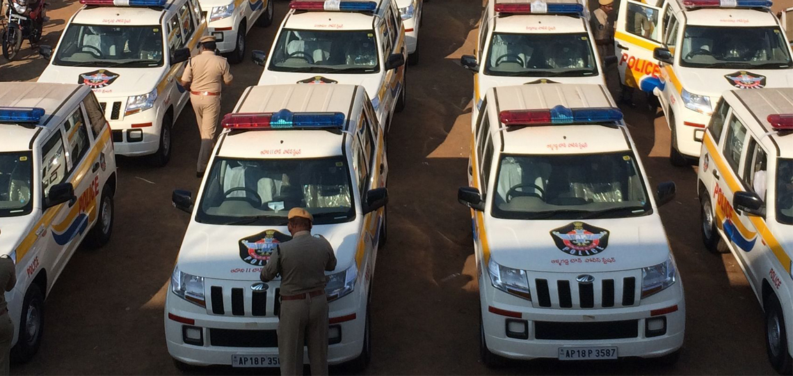 Indian Police Department Mahindra Cars