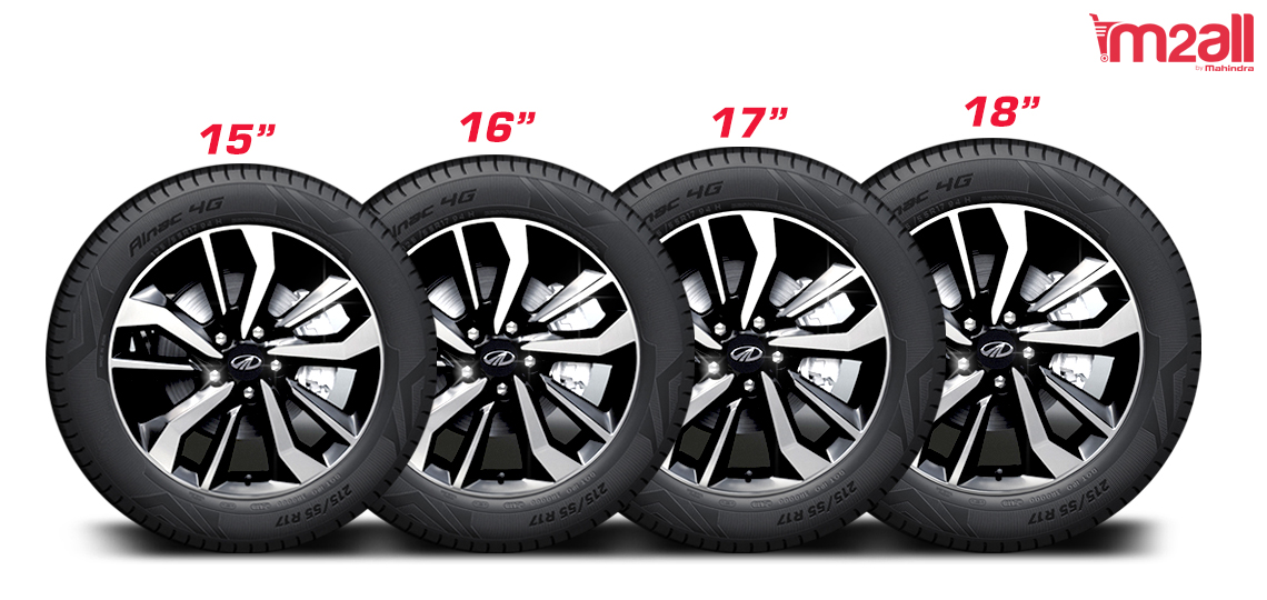 Alloy Wheel size - M2ALL