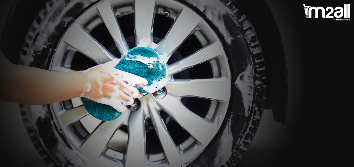 Cleaning of Wheel - M2ALL