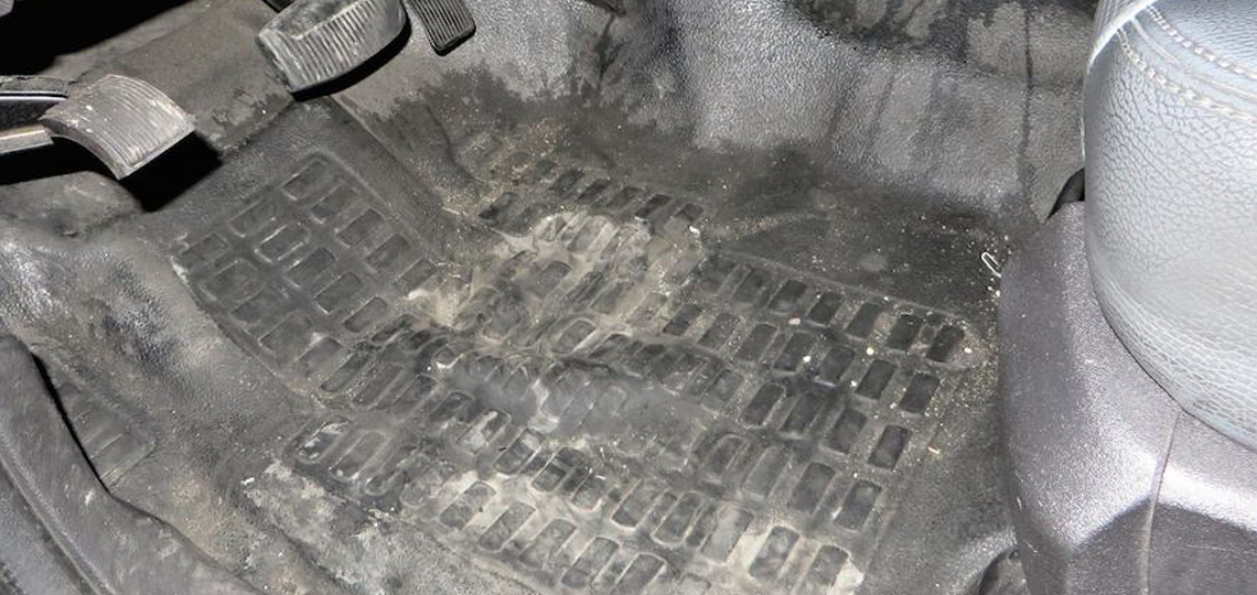Dirty Car Floor Mats - M2ALL