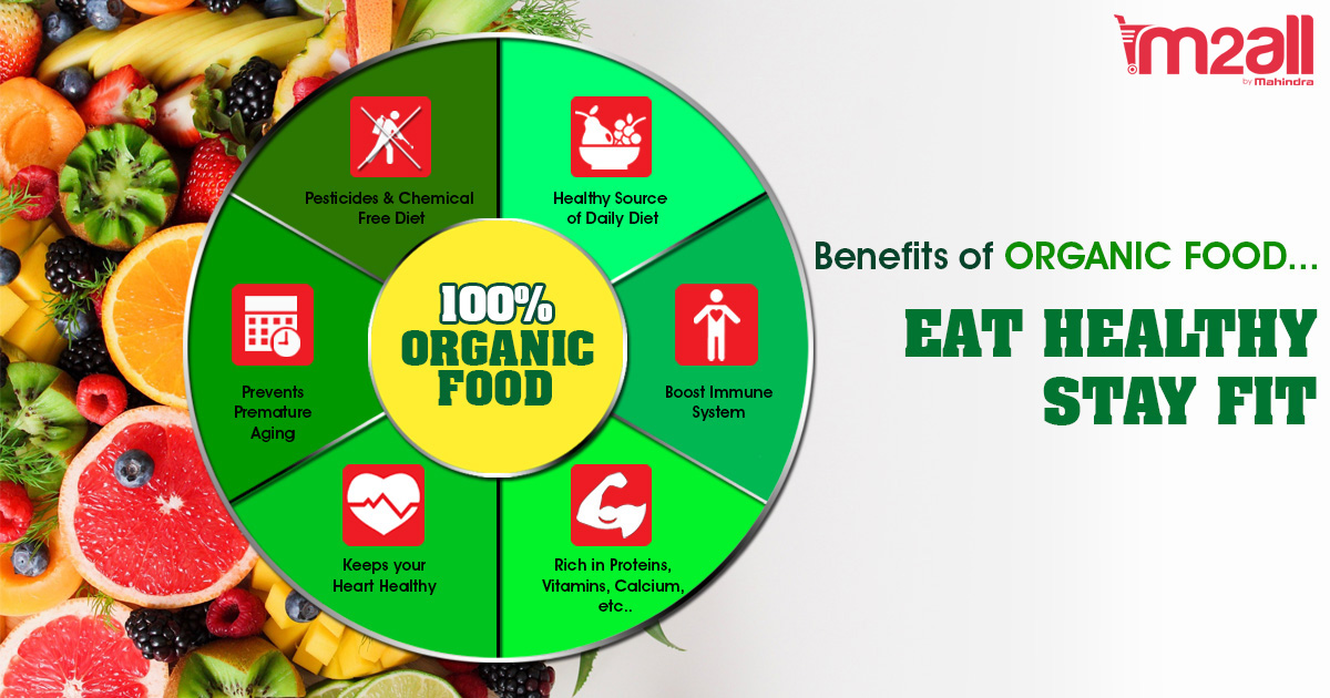 Benefits of Organic Food - M2ALL