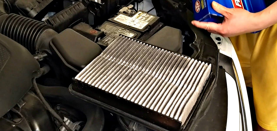 Dirty & Clogged Air Filter - M2ALL