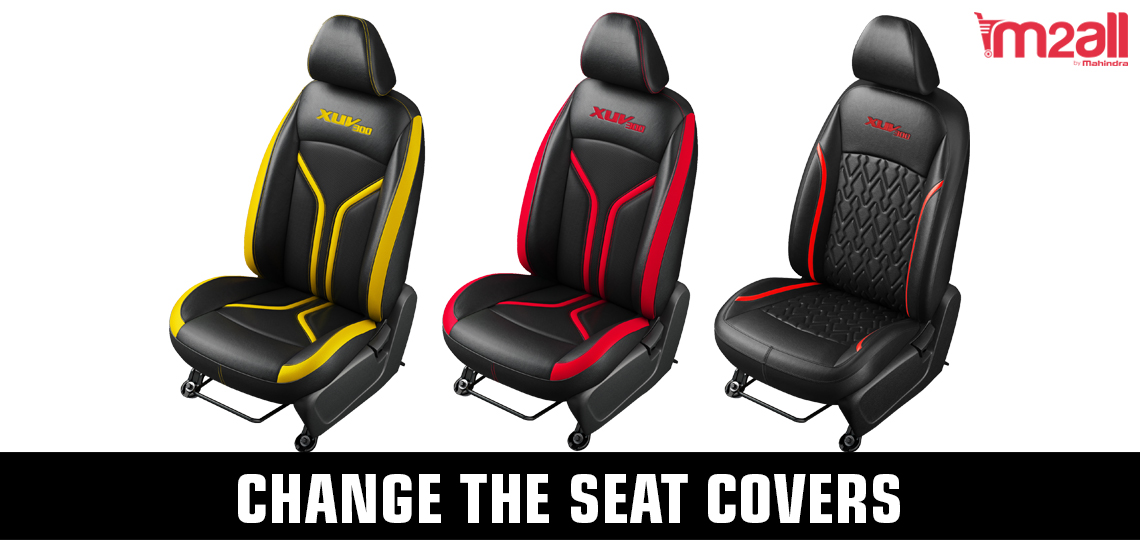 Seat covers for XUV300 - M2ALL