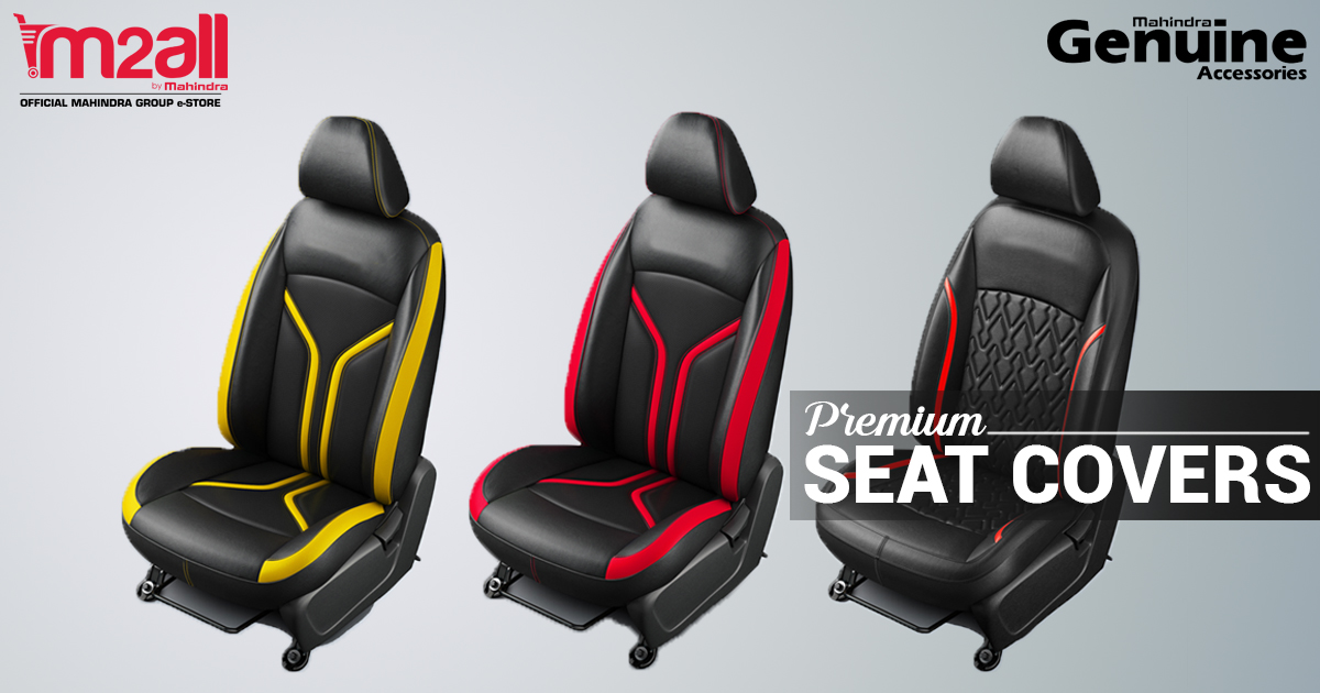 Mahindra Car Seat Covers - M2ALL