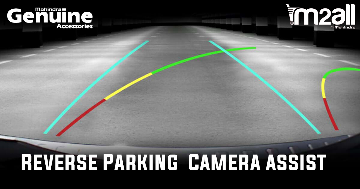 XUV500 Reverse Parking Camera - M2ALL