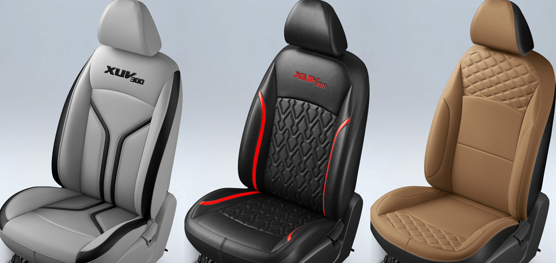 Mahindra SUV Seat Covers - M2ALL