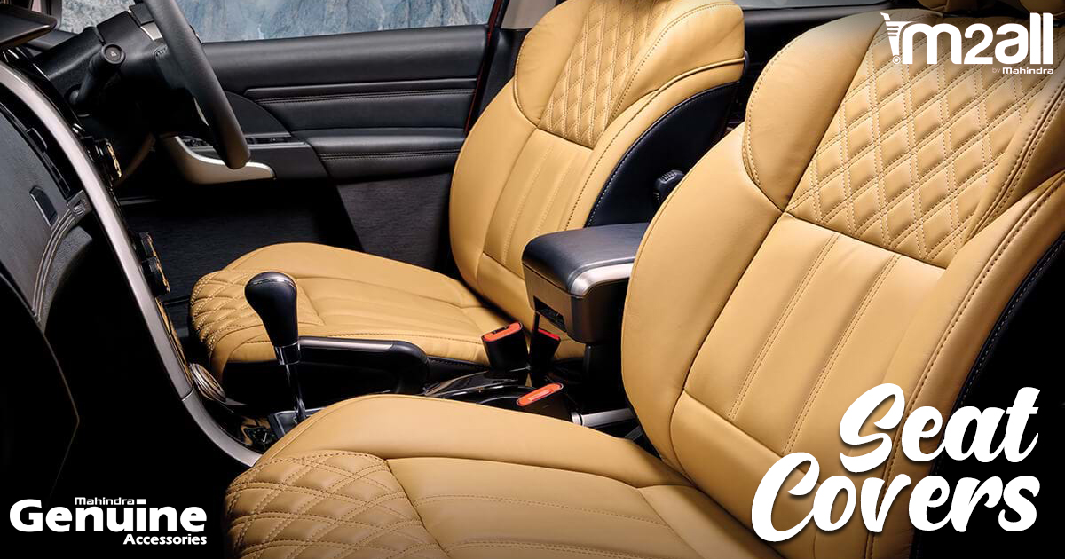 XUV500 Premium Seat Covers - M2ALL