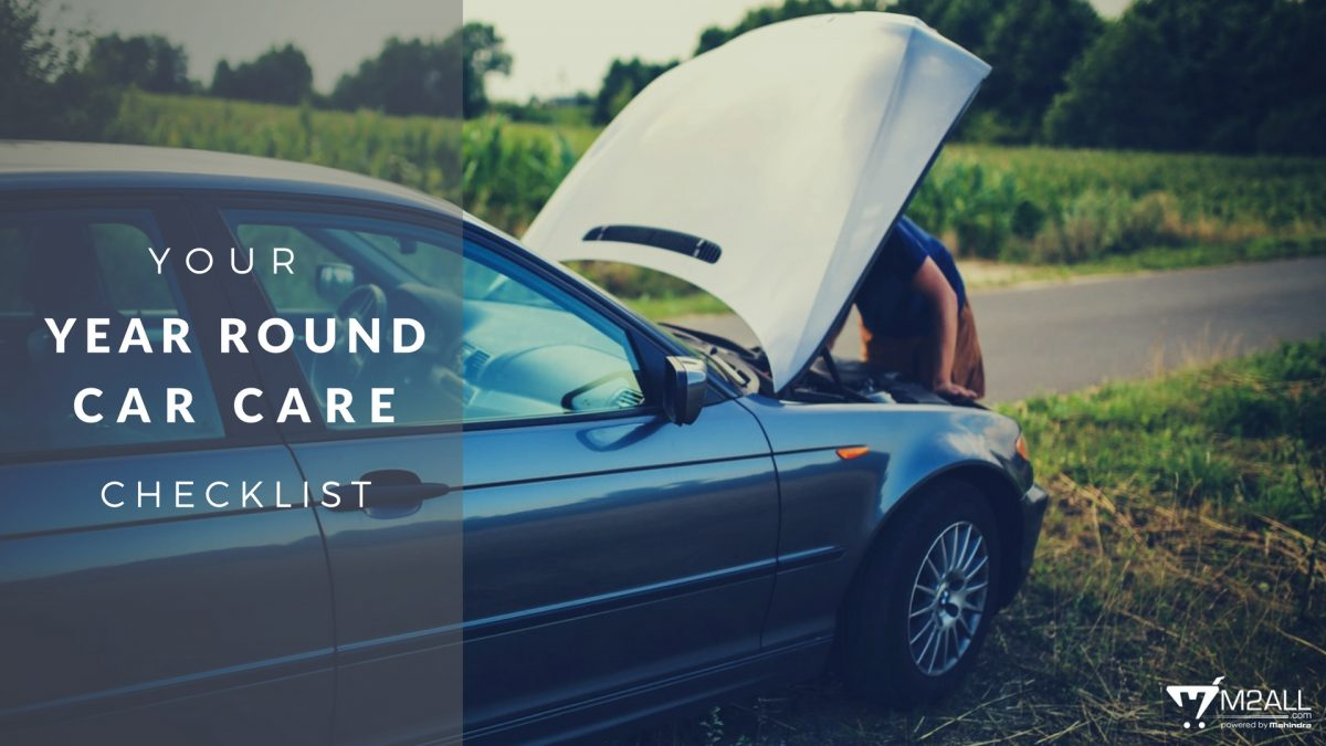 Your Year Round Car Care Checklist